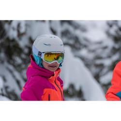 Casco de esquí y de snowboard niños Stream 500 JR azul.