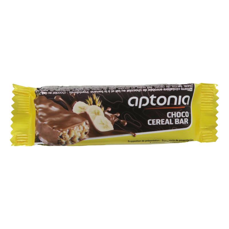 Chocolate-Coated Cereal Bar 32 g - Banana