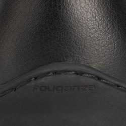 500 Adult Synthetic Horse Riding Jodhpur Shoes - Black
