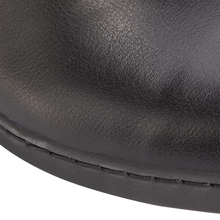 Bottes synthétique équitation adulte LB 500 noir - 1245456