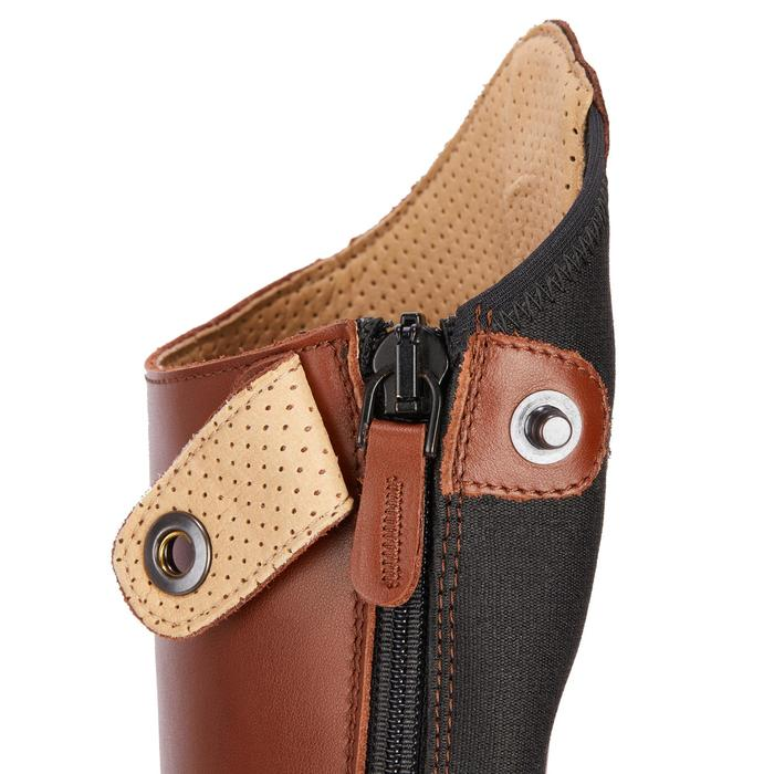 Bottes cuir équitation adulte LB 900 - 1245477