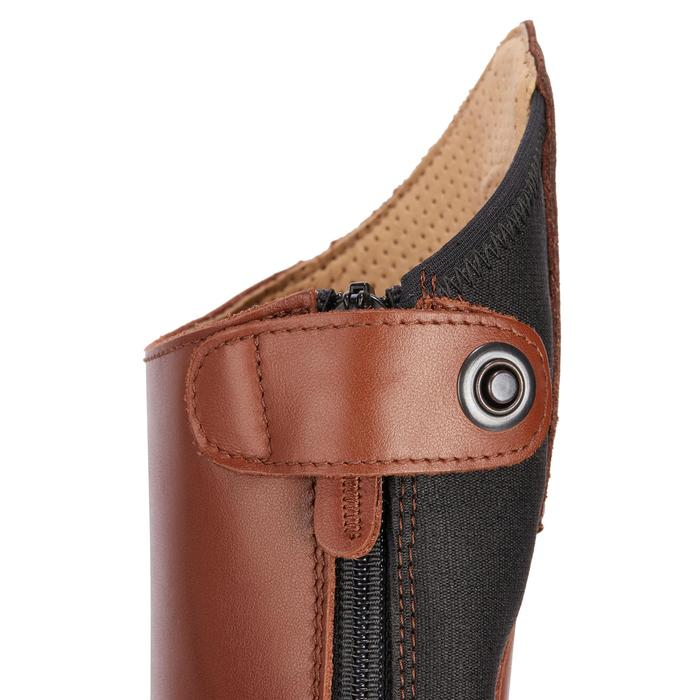 Bottes cuir équitation adulte LB 900 - 1245478
