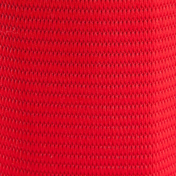 Brassard de capitaine reversible rouge violet - 124548