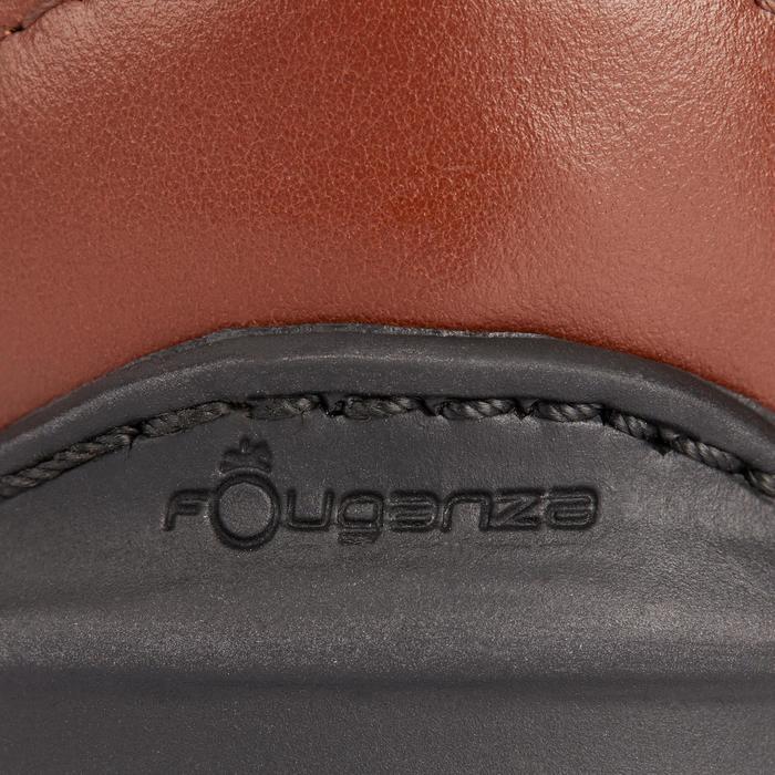 Reitstiefel LB 900 Leder Erwachsene braun