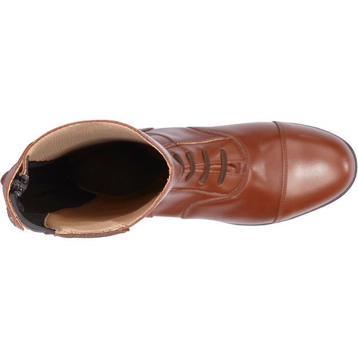 Bottes cuir équitation adulte LB 900 - 1245481