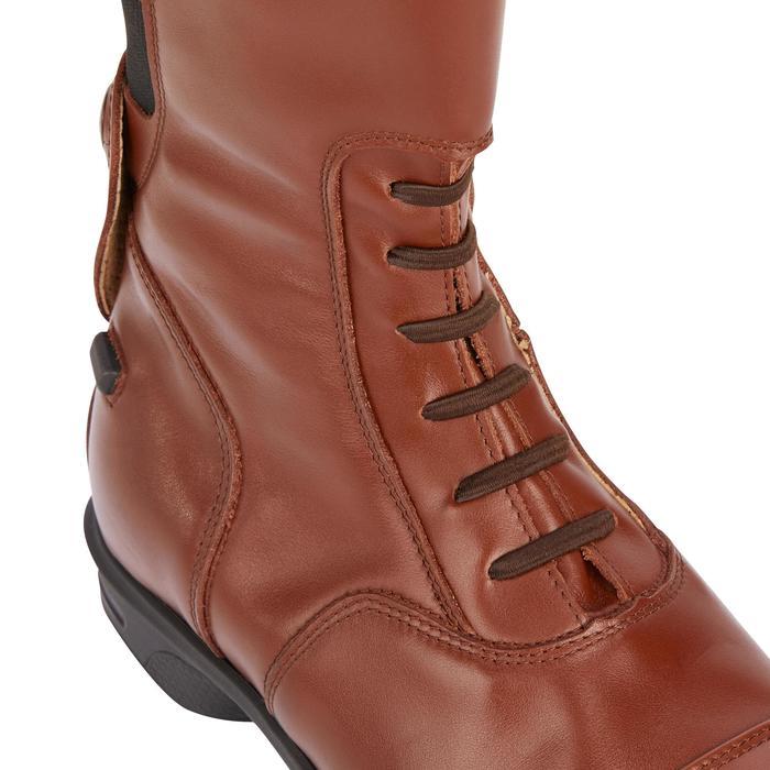 Bottes cuir équitation adulte LB 900 - 1245482