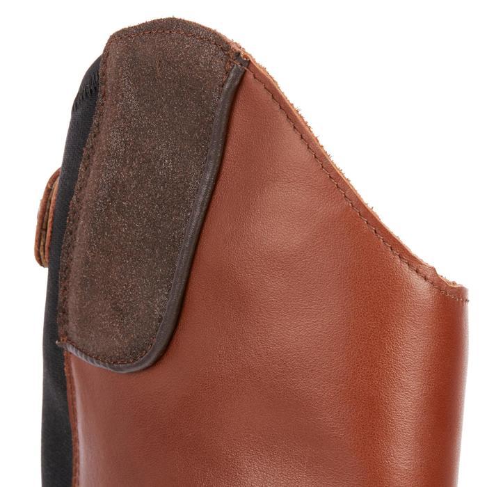 Bottes cuir équitation adulte LB 900 - 1245484