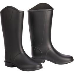 100 Children's Horseback Riding Boots - Black