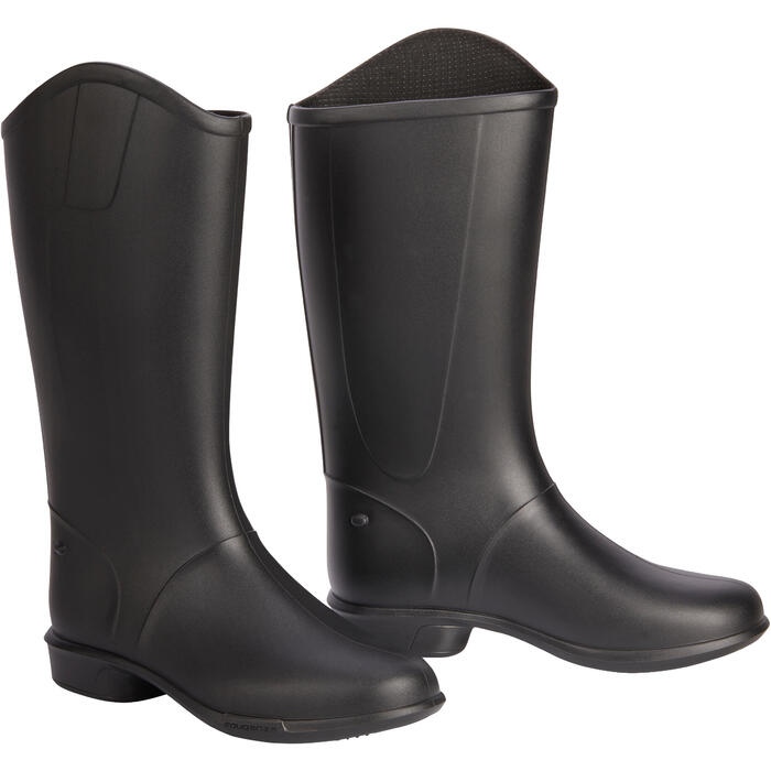 100 Children's Horse Riding Boots - Black