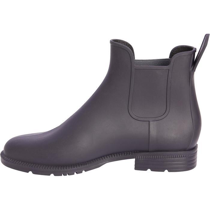 Boots équitation enfant BTS 140 marine/gris