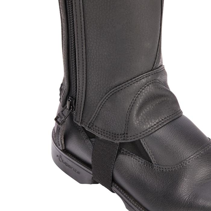 Mini-chaps équitation enfant 500 SOUFFLET noir - 1245520