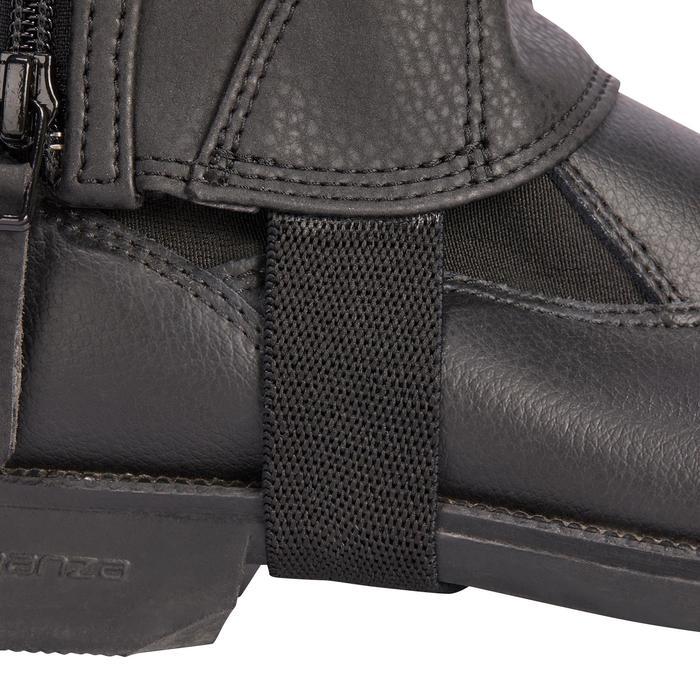 Mini-chaps équitation enfant 500 SOUFFLET noir