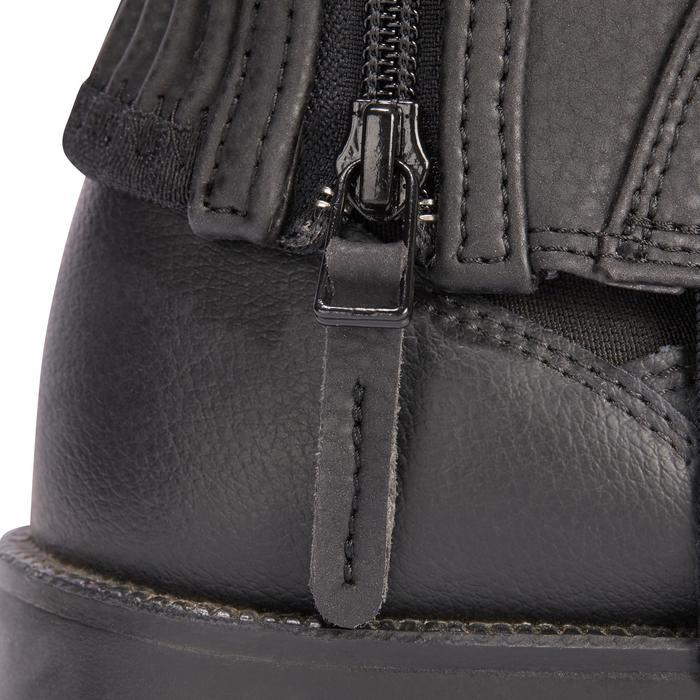 Mini-chaps équitation enfant 500 SOUFFLET noir - 1245525