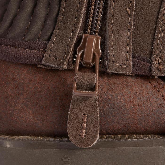 Mini-chaps équitation adulte SOUFFLET SENTIER marron - 1245531