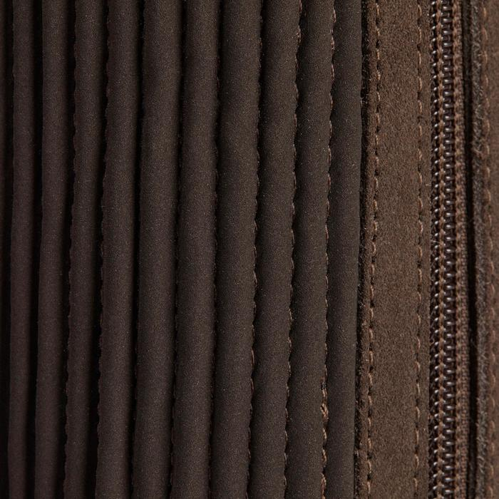 Mini-chaps équitation adulte SOUFFLET SENTIER marron - 1245534