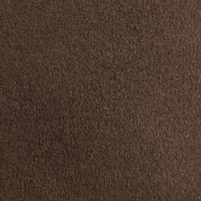 Minichaps ruitersport volwassenen Sentier bruin met plooi