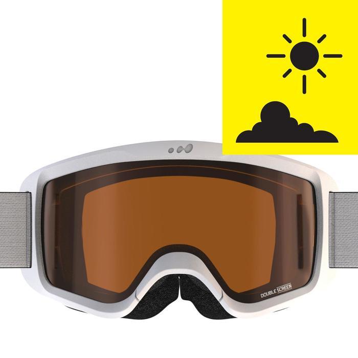 MASQUE DE SKI ET DE SNOWBOARD HOMME SNOW 300 BEAU TEMPS - P - 1245542