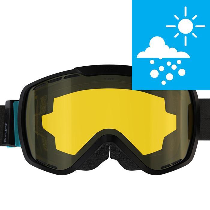 MASQUE DE SKI ET DE SNOWBOARD ADULTE G 940 E TOUS TEMPS NOIR