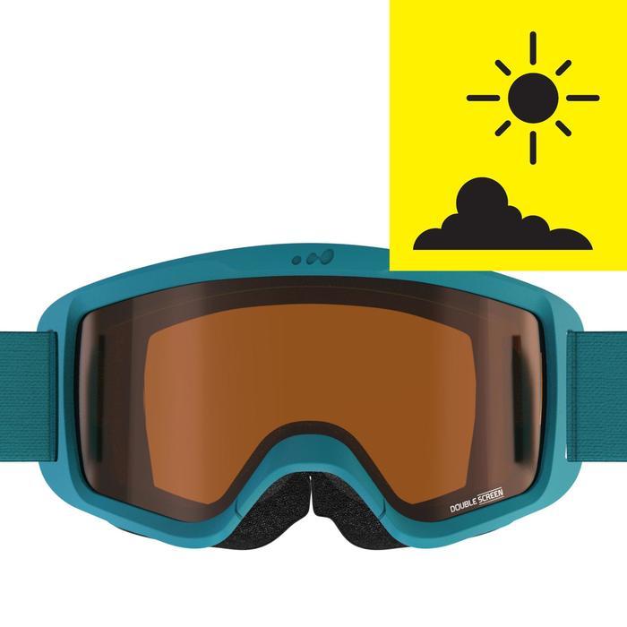 MASQUE DE SKI ET DE SNOWBOARD ENFANT ET ADULTE G 140 BEAU TEMPS - 1245557