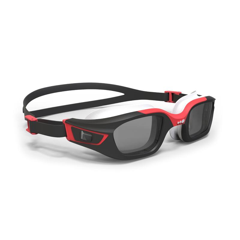 SELFIT FRAME corrective swimming goggles size L - black red