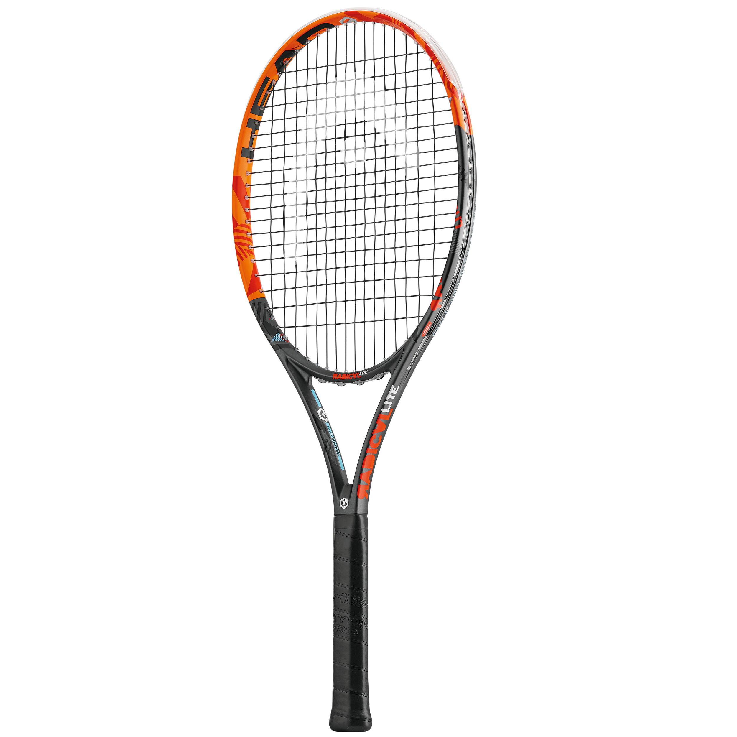 Head Tennisracket Radical Lite oranje en zwart