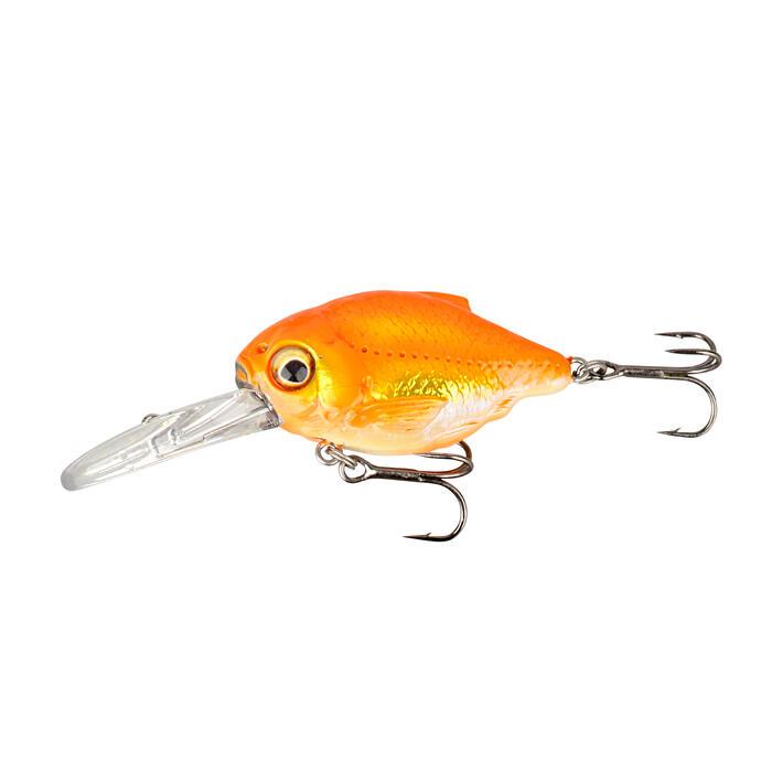 Kunstköder 3D Crucian Crank 46 Goldfish Raubfischangeln