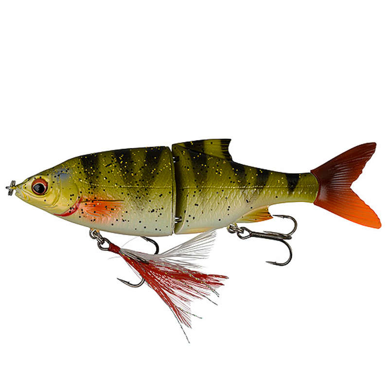 LARGE PIKE LURES Fishing - 3D ROACH SHINE GLIDER PERCH NO BRAND - Fishing