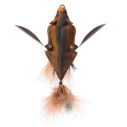 Kunstaas voor roofvissen 3D-bat bruin 10 cm