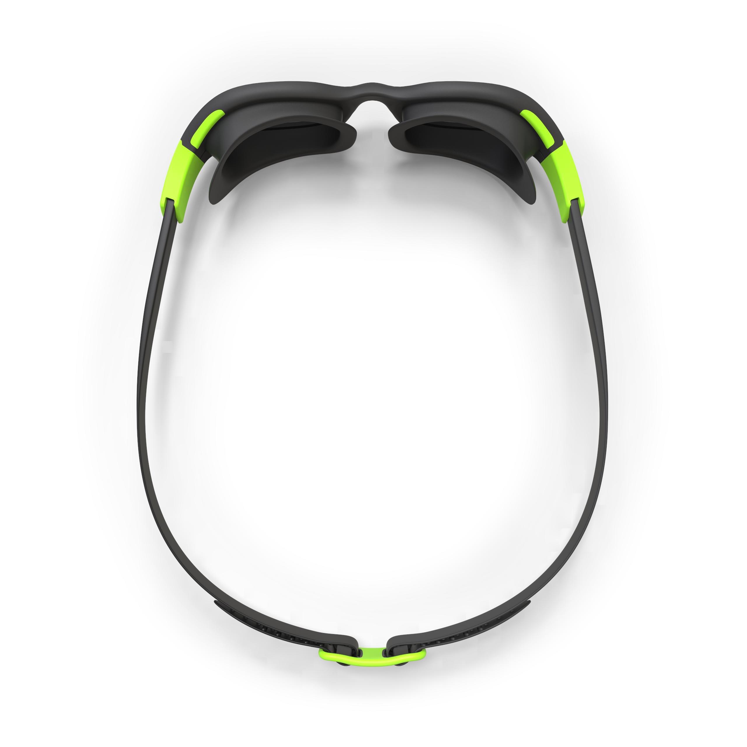 Lunettes de natation EASYDOW noir vert Taille G