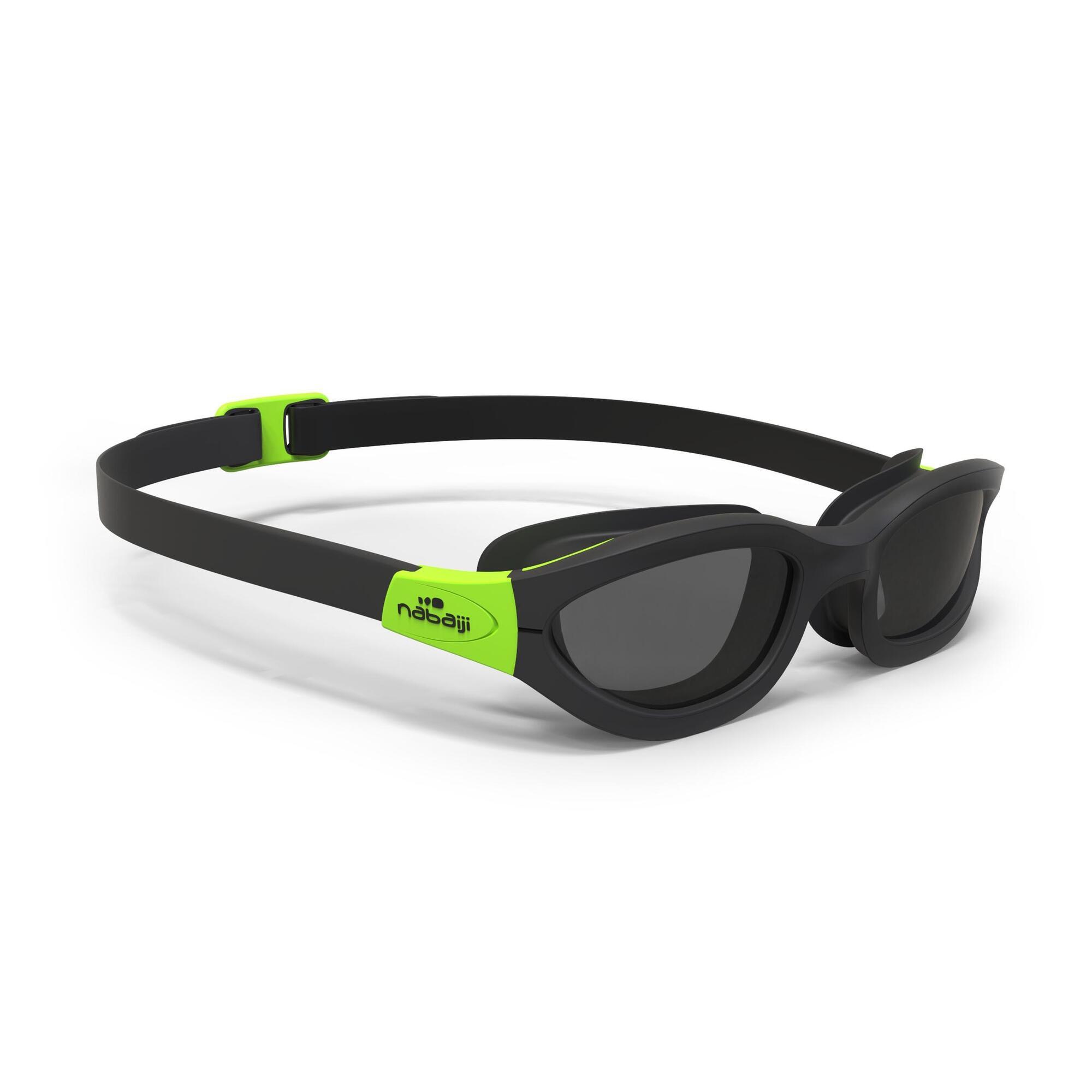 easydow swimming goggles size l black green nabaiji