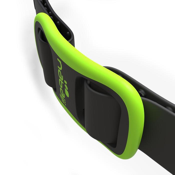 Schwimmbrille Easydow Gr. L Erwachsene schwarz/grün