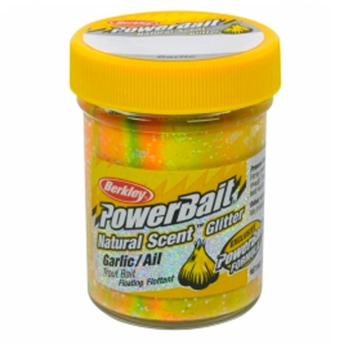 Forellendeeg Natural Scent glitter garlic rainbow