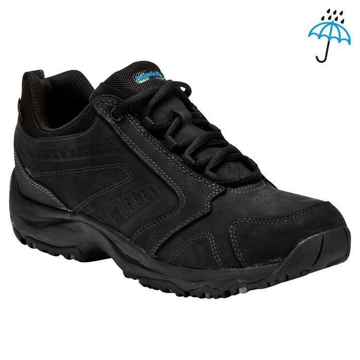 Chaussures marche sportive homme Nakuru Novadry cuir noir