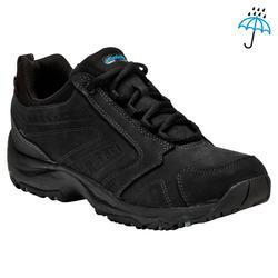 Zapatillas marcha deportiva para hombre Nakuru Novadry impermeables piel negro