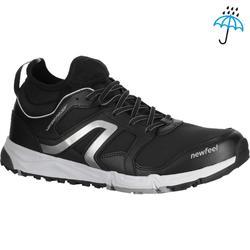 Nordic walking schoenen voor heren NW 580 waterproof zwart