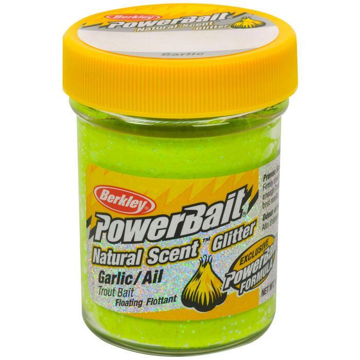 Forellenteig Natural Scent Glitter Garlic gelbgrün