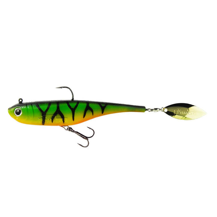 Softbait voor roofvissen Divinator Junior 22 g fire tiger