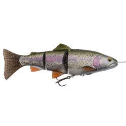 Softbait voor roofvissen 4D Line Thru Trout 15 cm rainbow