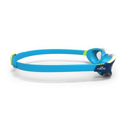 نظارة سباحة من EASYDOW مقاس L - أزرق أبيض