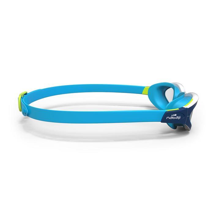 Lunettes de natation EASYDOW Taille L bleu blanc