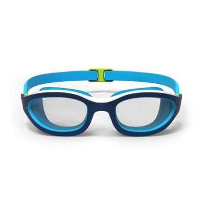 100 EASYDOW Swimming Goggles, Size L - Blue White