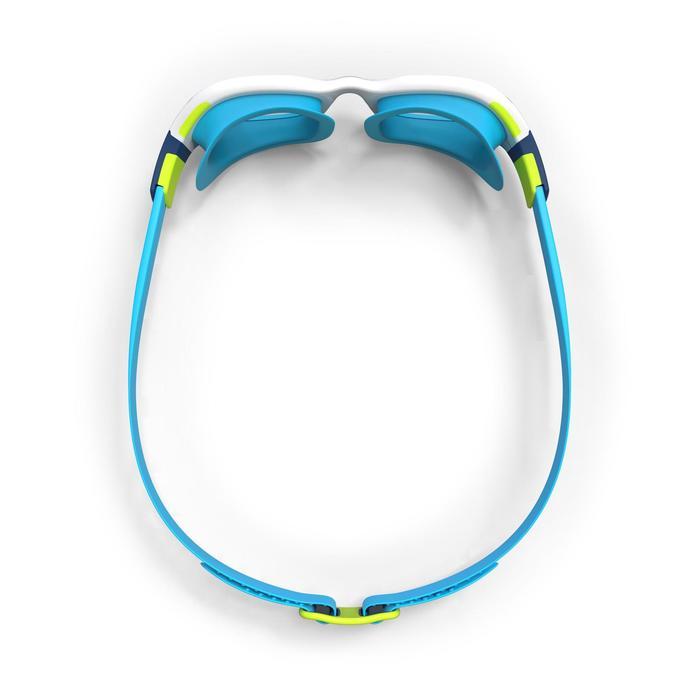 Schwimmbrille Easydow Erwachsene blau/weiß
