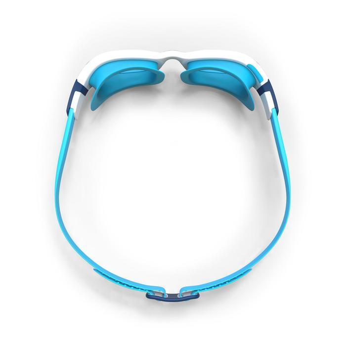Zwembril Easydow maat S blauw wit