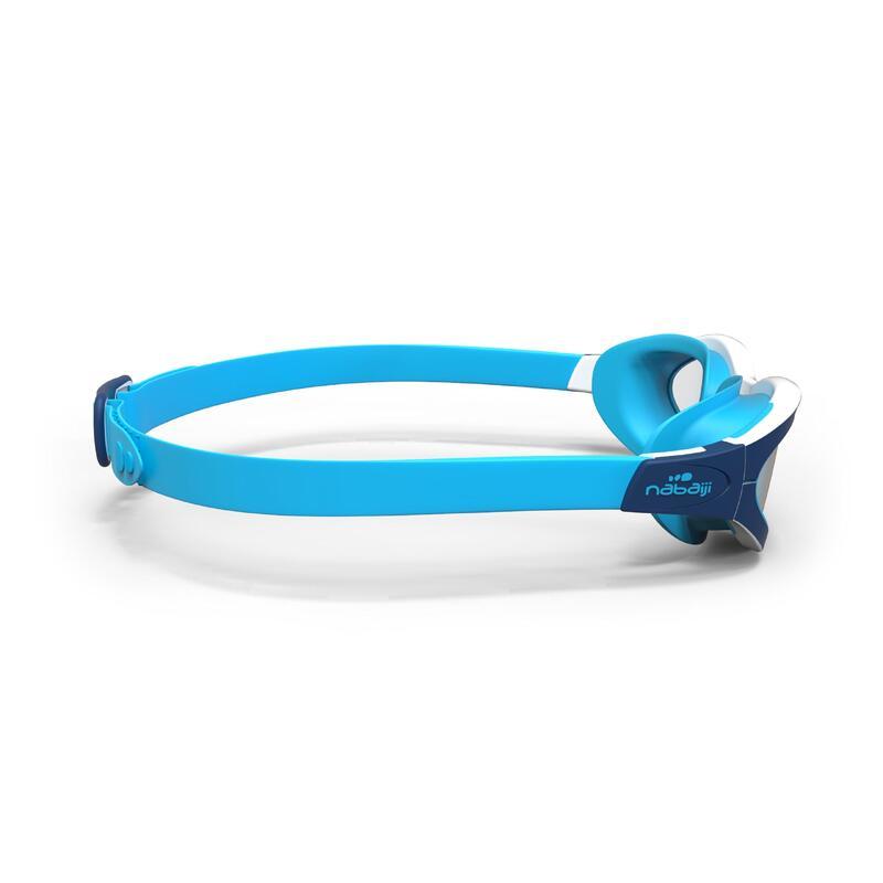 Lentes de natación EASYDOW Talla S azul blancos