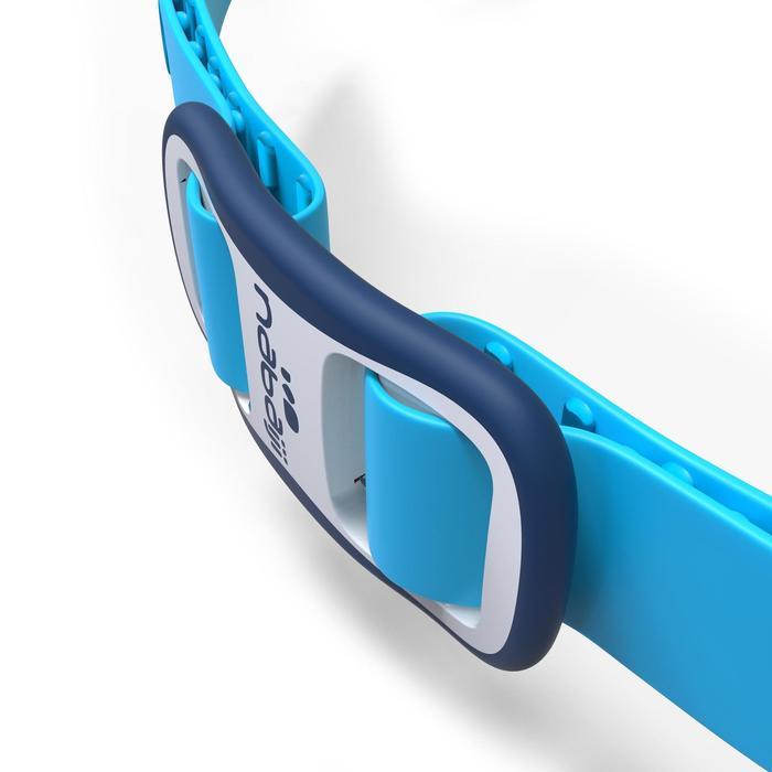 Schwimmbrille Easydow Größe S blau/weiß