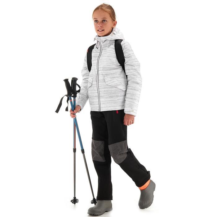 Veste de randonnée neige junior SH100 warm bleue - 1246073