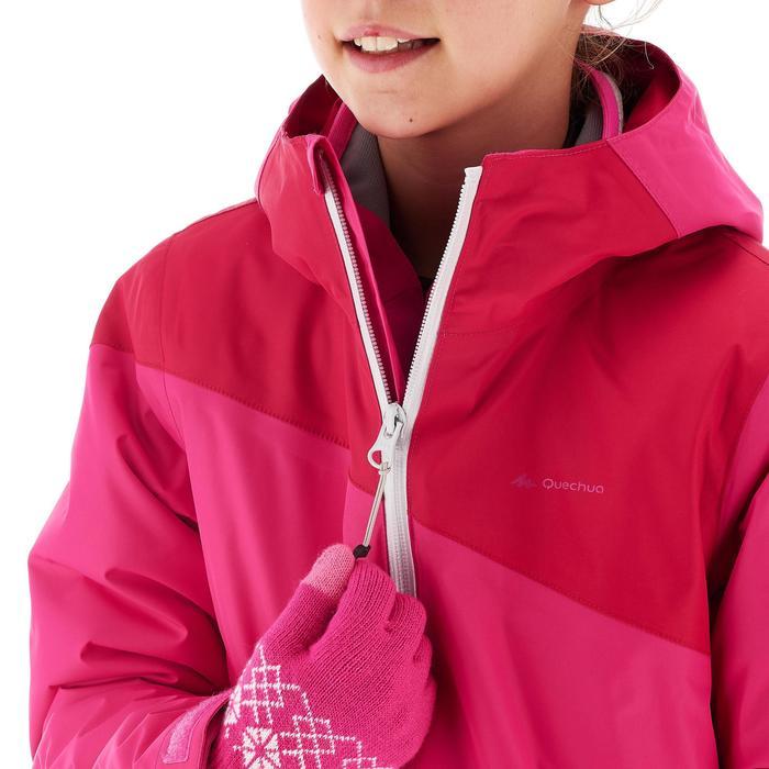 Veste chaude imperméable de randonnée Fille Hike 900 3en1 - 1246099