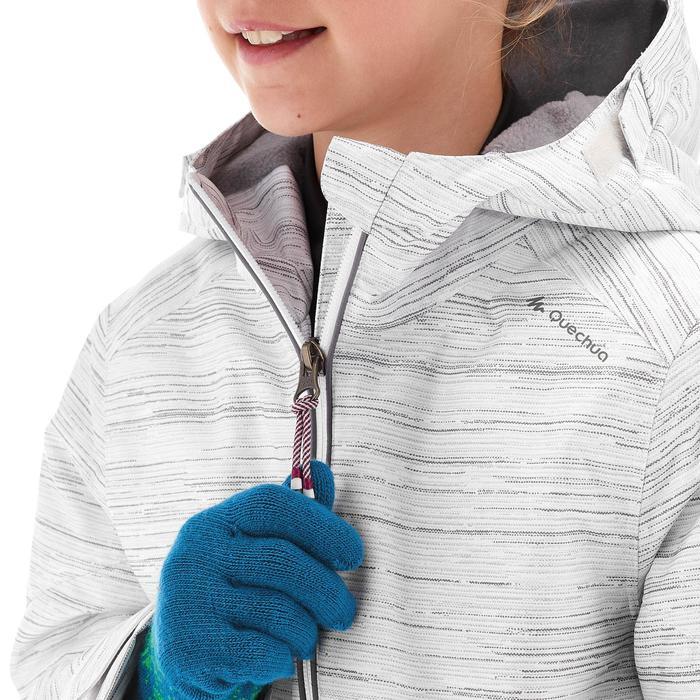 Veste de randonnée neige junior SH100 warm bleue - 1246103