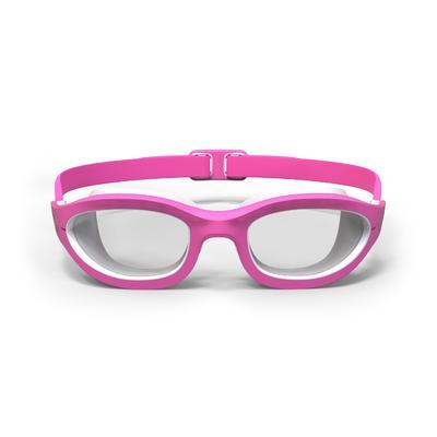 نظارات سباحة من EASYDOW مقاس S - وردية