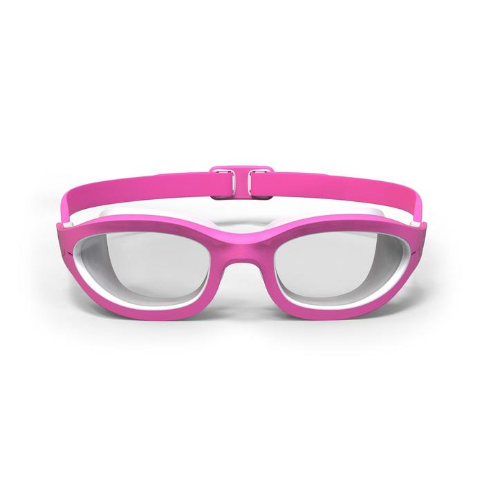 Lunettes de natation 100 EASYDOW Taille S Rose